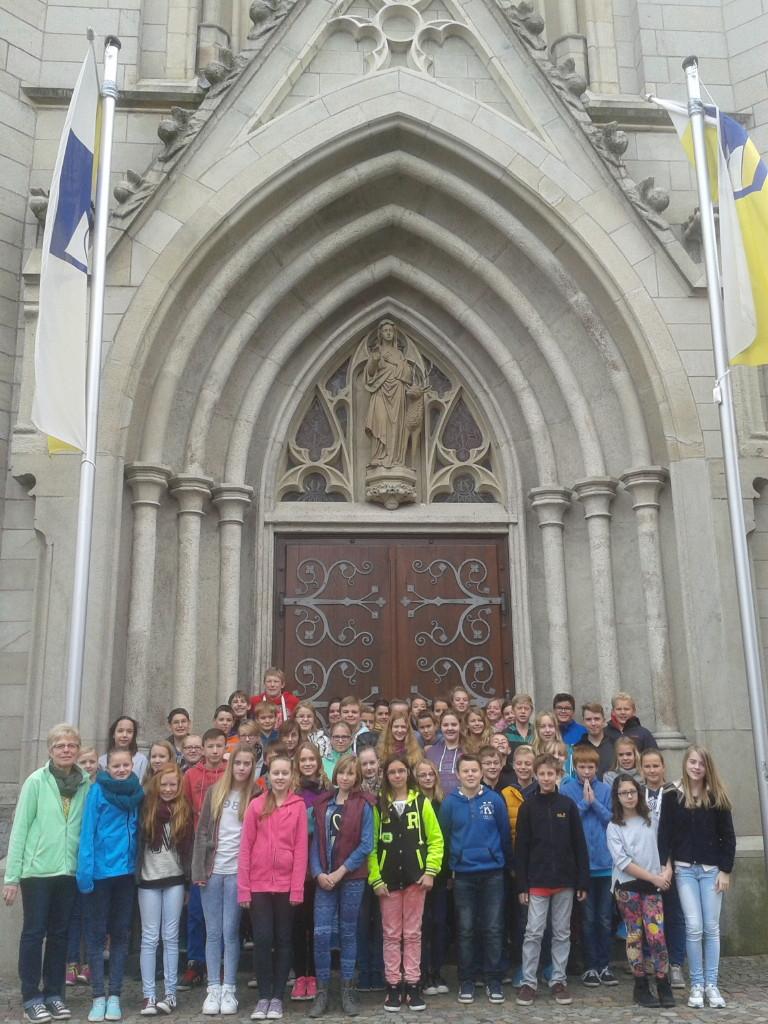 2014,09,24 Unterricht Ida Kirche_klein 03