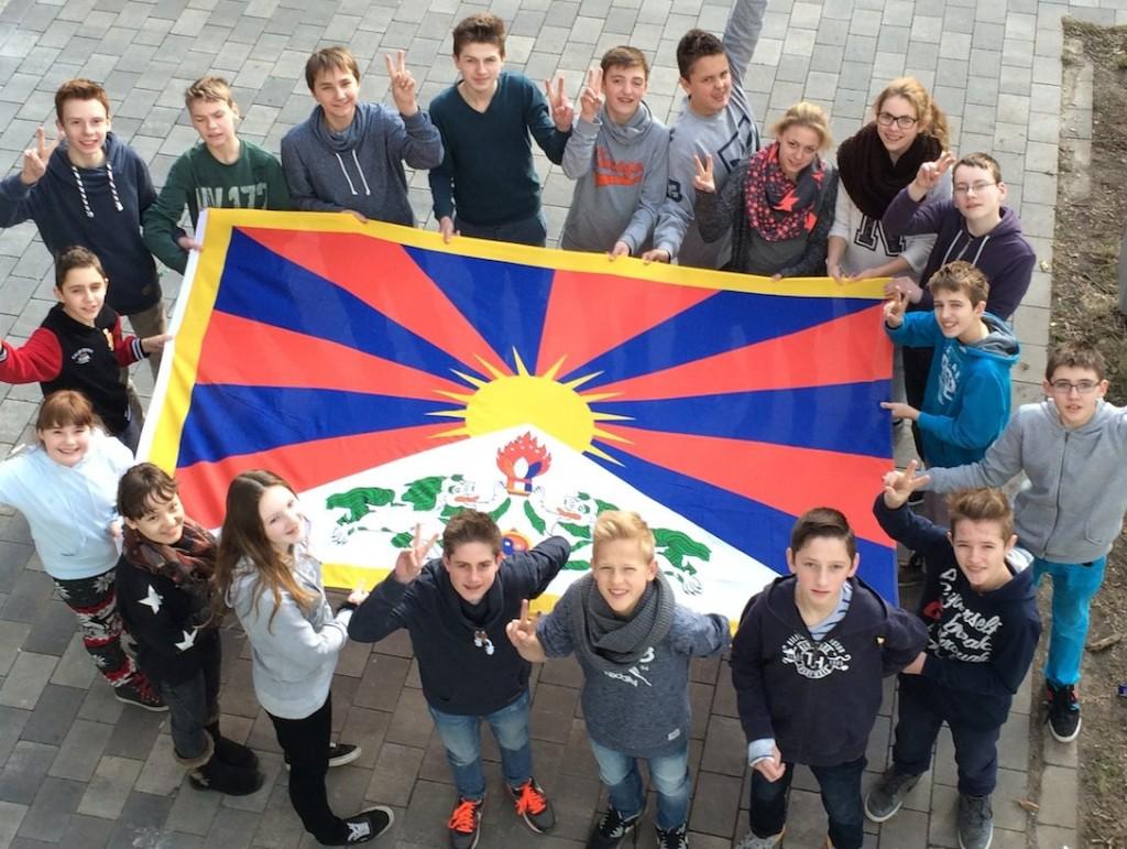 Flagge zeigen für Tibet 7a