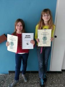 Jolina  und Jule  (Klasse 5e)